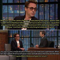 Late Night with Seth Meyers - Robert Downey Jr.