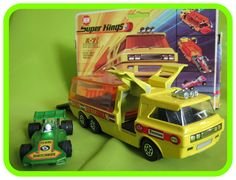 K7 Racing Car Transporter (in G4 'Team Matchbox' set, with 4 Racing Cars) (Shown with wrong box)