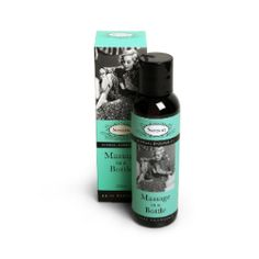 delicately scented massage oil that creates a soft, slick texture during use. Drizzle the oil over the skin of your partner and begin to gently rub for a sensual massage.