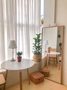 Room Ideas Bedroom, Small Room Bedroom, Bedroom Decor, My Living Room, Living Room Decor, Minimalist Room, Cozy Room, Aesthetic Bedroom, Dream Rooms