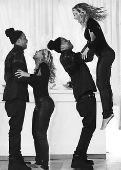 Bey & Jay You Ready Bey 1 2 3 Jump