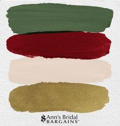 Wedding Color Schemes, Colour Schemes, Color Combos, Wedding Colors, Wedding Themes, Gold Color Palettes, Red Colour Palette, Palette Pantone, Christmas Palette