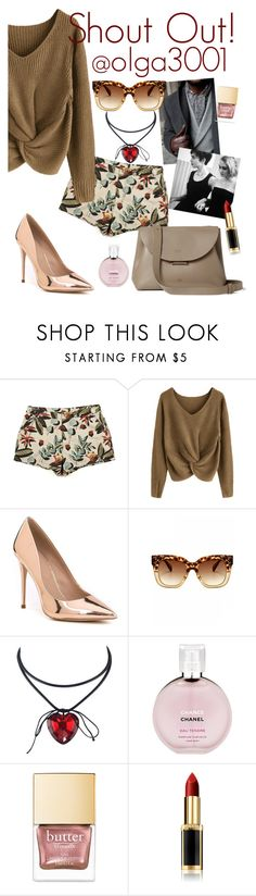 """""""SHOUT OUT! @olga3001"""" by elliewriter ❤ liked on Polyvore featuring Paul Smith, ALDO, Barbour, Chanel and L'Oréal Paris"""