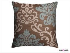 =cmCasa= 2274  Flower Color Jacquard Throw Pillow Case