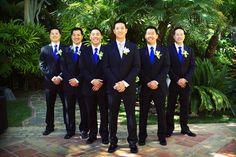 Ideas Wedding Suits Men Purple Royal Blue For 2019 Wedding 2017, Wedding Groom, Wedding Suits, Cobalt Blue Weddings, Royal Blue Bridesmaids, Royal Blue Tie, Costume Garçon, Blue Groomsmen, Yellow Wedding