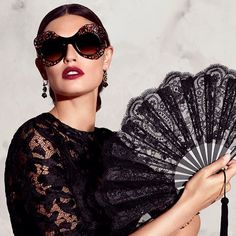 Traditions and Spanish colors influence on Sicilian culture inspire an extremely unique and original sunglasses collection.  Discover more on www.dolcegabbana.com/eyewear #dgeyewear #DGFeriaDeAbril