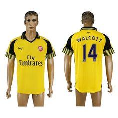 Arsenal 16-17 Walcott 14 Udebane Trøje Kortærmet.  http://www.fodboldsports.com/arsenal-16-17-walcott-14-udebane-troje-kortermet.  #fodboldtrøjer