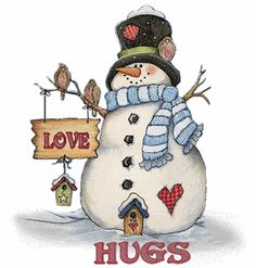 Snowman Hugs Photo:  This Photo was uploaded by DanielK09. Find other Snowman Hugs pictures and photos or upload your own with Photobucket free image and...
