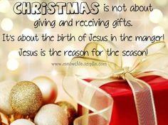 Christian christmas greetings message wishes quotes and sayings its about the birth of jesus in the manger jesus is the reason for the season christmas greetings message wishes quotes and sayings m4hsunfo