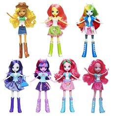 My Little Pony Equestria Girls Everyday Dolls Wave 1 - Hasbro - My Little Pony - Dolls at Entertainment Earth