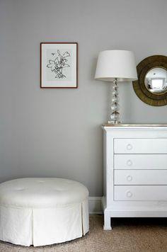 Sage Design: Cool gray walls paint color