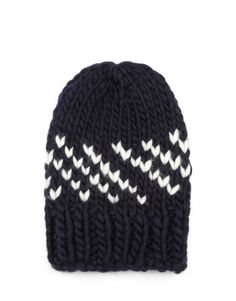 yolande knitted this one. // wool and the gang zion lion knitted hat.