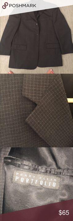 Perry Ellis men's sports jacket 42S Petty Ellis men's beautiful tailored men's 42S sports jacket, mint condition Perry Ellis Suits & Blazers Sport Coats & Blazers