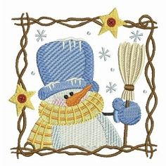 Let It Snow 4 - 4x4   What's New   Machine Embroidery Designs   SWAKembroidery.com Ace Points Embroidery