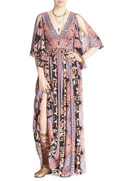 Free People 'Fern' Print Maxi Dress