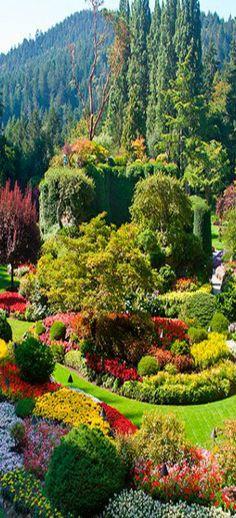 Buchart Gardens - Victoria, British Columbia, Canada