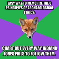 Anthropology Major Fox