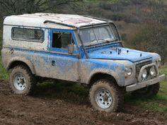 """100"""" Range Rover / Land Rover Hybrid http://www.adrianstomcat.co.uk/Hybrid1b.htm"""