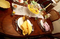 House at Forest Manor: Belated Easter Tablescape