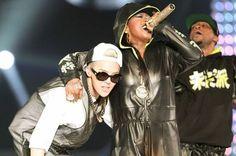 G-Dragon and Missy Elliott --- KCON 2013