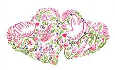 BIRDY HEART by Wetpaint Design & Illustration, via Flickr