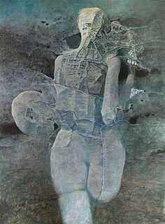 DmochowskiGallery.net - galeria - Sala 13. Obrazy. Lata 1995-2005 - XŃ