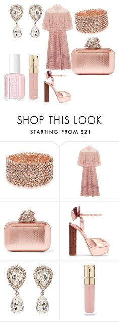 """""""She's so Classic!"""" by shannongarner on Polyvore featuring Bling Jewelry, Valentino, Jimmy Choo, Sophia Webster, Dolce&Gabbana, Smith & Cult and Essie"""
