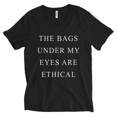 ethical fashion is where it's at... this shirt is a fun way to encourage others to shop ethically and bring attention to the need to do so