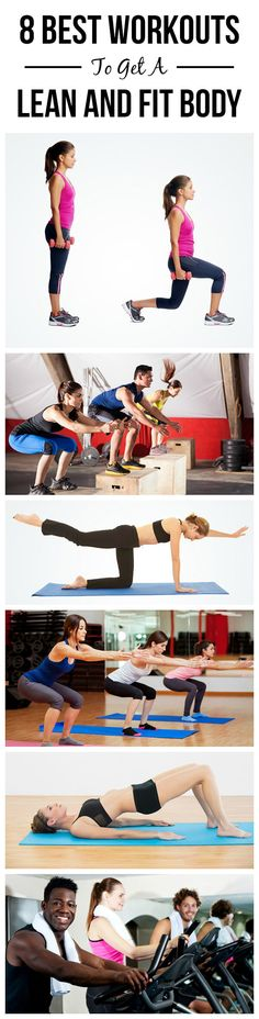 8 Best Workouts To Get A Lean And Fit Body