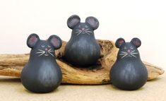 Gourds By GertsKid  I have several of Mary's adorable gourds ♥