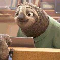 Disney happy thanksgiving sloth thankful