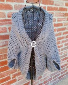 Granny Shrug Crochet Pattern