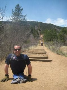 Paralympic Skier Tyler Walker climbed the tortuous Manitou Incline using only his arms. Check out this inspiring Q & A interview.