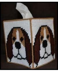 Beagle Tissue Box Cover
