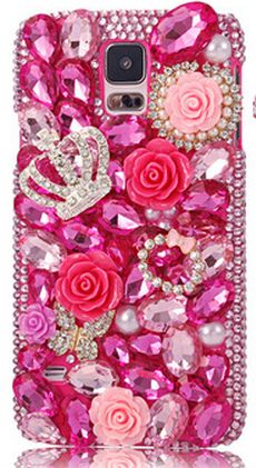 Galaxy S5 - Luxurious, Sparkling Jewel Gem Cases in Assorted Designs