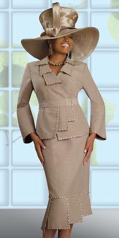 Donna Vinci Couture Womens Church Suit 5369