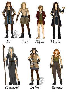 The hobbit cosplay genderbend ideas, I'm so gonna be kili or fili