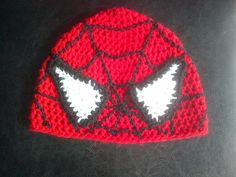 Crochet Superhero Hat Inspired by the character by DopteraDesigns, $36.00