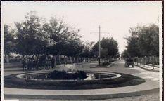 Malatya, İstasyon caddesi ve havuz,  1950'li yıllar...