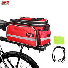 Arltb Bike Rear Bag (3 Colors) 20 - 35L Waterproof Bicycle Trunk Bag with Rain Cover Shoulder Strap Bike Pannier Tail Back Seat Bag Package Handbag Bike Accessories for Road Bikes Mountain Bikes http://coolbike.us/product/arltb-bike-rear-bag-3-colors-20-35l-waterproof-bicycle-trunk-bag-with-rain-cover-shoulder-strap-bike-pannier-tail-back-seat-bag-package-handbag-bike-accessories-for-road-bikes-mountain-bikes/