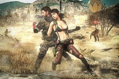 Venom Snake and Quiet