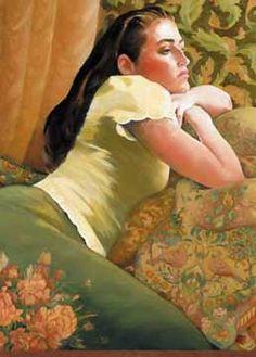 """Young Lady, portrait"" -- by Jacqueline Osborn"