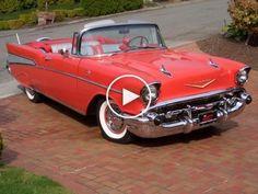 Vintage Cars Car of the Week: 1957 Chevrolet Bel Air - Old Cars Weekly Chevrolet Bel Air, 1957 Chevy Bel Air, Bel Air Car, Mercedes Classic Cars, Old Classic Cars, Classic Trucks, Walpapper Vintage, Old Vintage Cars, Vintage Auto