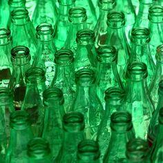 green bottles via flickr.com