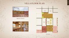 Villa Floor Plan Properties in Pune - Westernhills, A 40 acres Gated Community by Atul Enterprises Layout of Villa