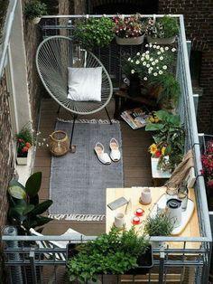 Michelle - Blog #Tiny, tiny #balcony Fonte: http://todaysgardens.org/meine-kleine-oase-www-craftifair-com/