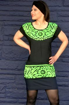 Vibrant Mexican Hand Embroidered Blouse / Huipil / by Vtgantiques, $59.99