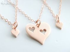Mother daughter jewelry Mother 2 daughters by MyTinyStarShining