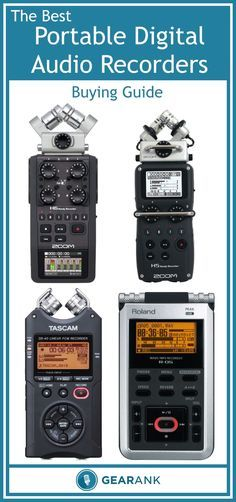 Guide to The Best Portable Digital Audio Recorders - Handheld. In addition to a recommended list of the highest rated recorders available to buy, this guide also covers topics including Microphone Configurations - XY, MS and AB, Microphone Polar Patterns, Storage Capacity, Batteries, Connectivity, Number of Recording Tracks and more.