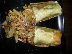 Chicken & Vegetable Spring Rolls – 410 Calories (Serves1) #cwp #cambridgeweightplan #slimmingworld